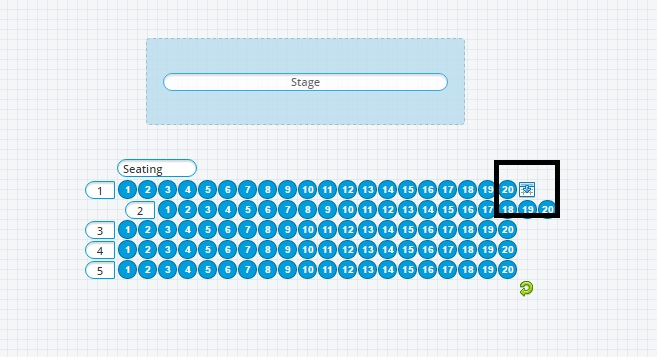 Now Your Seating Map Is Complete While You Were Working Oveit Was Saving Work So Can Either Click The Save Button In Lower Left Area Or Just
